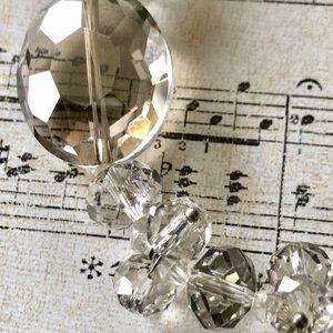 Jewelry - ✨NEW✨Light Smoke Crystal Bracelet
